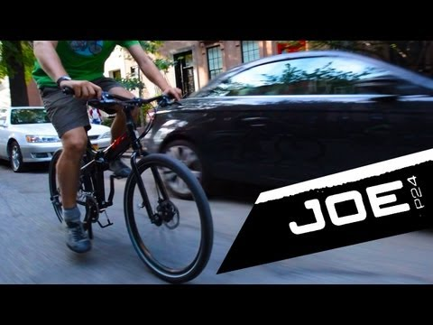 Tern Joe P24 – Folding commuter bike review Video