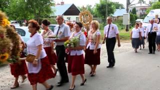 Szczepańcowa - Korowód Wieńców Dożynkowych - Dożynki 2015