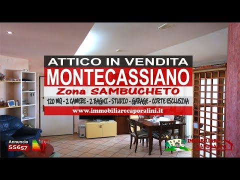 Agenzia Immobiliare Caporalini - Attico - Annuncio SS657 - Video