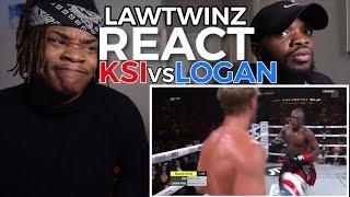 KSI vs. LOGAN PAUL 2 | HIGHLIGHTS - REACTION (Lawtwinz)