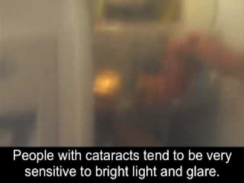 Screenshot of video: Visual impairment simulation