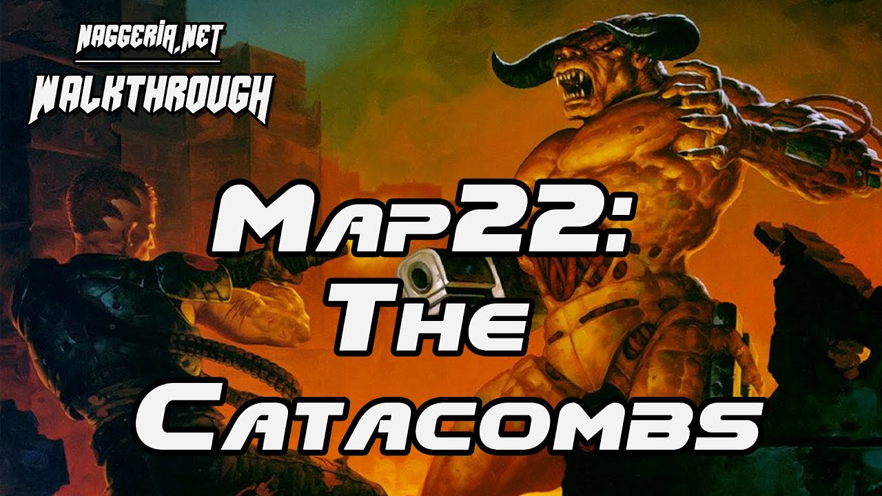 "[Doom 2 Komplettlösung] Map22: ""The Catacombs"" Walkthrough (Ultra-Violence)"