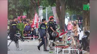 Người đàn ông tự thiêu trên tầng 31, chung cư HH3B Linh Đàm hỗn loạn  VTC14