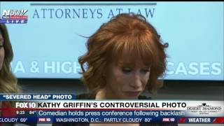 BROKEN: Kathy Griffin CRYING, in TEARS as She Explains Trump Broke Her, Feels Her Career is Done