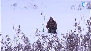 С 26 декабря разрешен выход на лед озера Ильмень