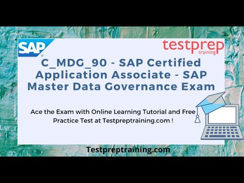 How to prepare for C_MDG_90 SAP Certified Application Associate ...
