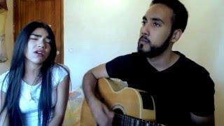 No es cierto - Noel Schajris ft. Danna Paola | Cover por Rafha & Michelle