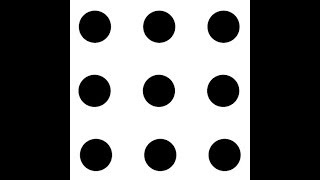 How to join 9 dots with 3 consecutive lines