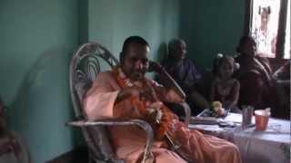 preview picture of video 'Srila B.N. Acharyadev Goswami Maharaja's Nepal Preaching Program, Kakarbhitta, Nepal - 24-04-2012'