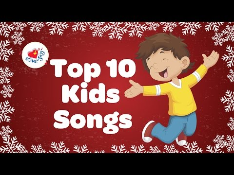 Top 10 Kids Action Songs Playlist | Children Love to Sing