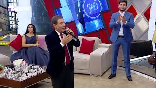 """Sabir Eliyev - """"Shirindi Yarim"""",    """"Saclari sarishin qiz'' - 5/5 Xezer tv 09 10 2017"""
