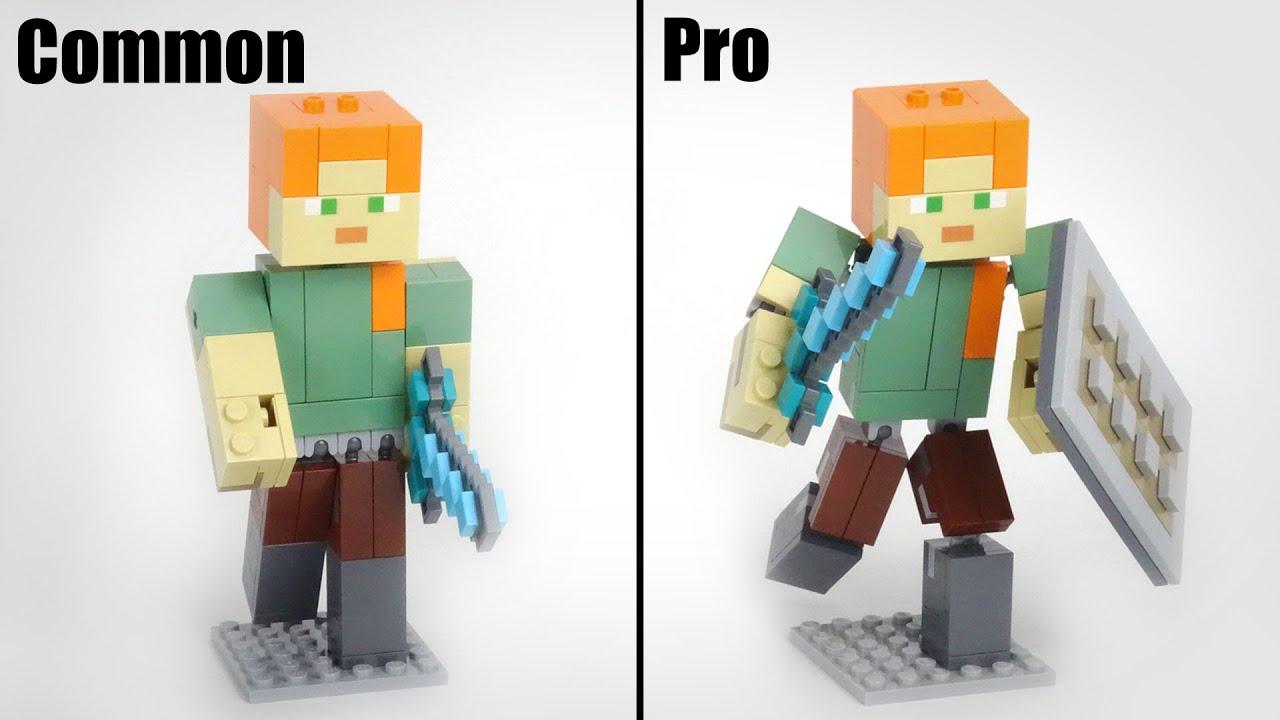 LEGO Minecraft 21149 Alex Big Figure Upgrade MOC