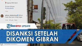Gibran Tulis di Kolom Komentar Foto Batik Trans Ugal-ugalan Lawan Arus, Kini Pengemudi Diberi Sanksi