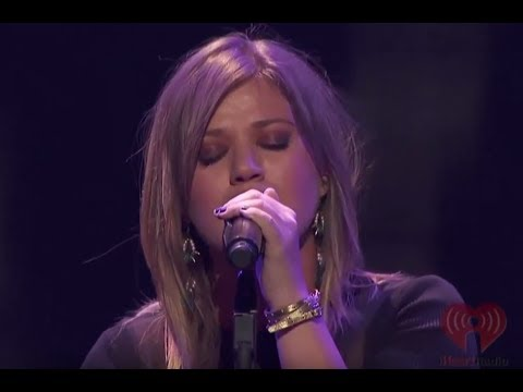 Kelly Clarkson - Because Of You (iHeartRadio Live 2011)
