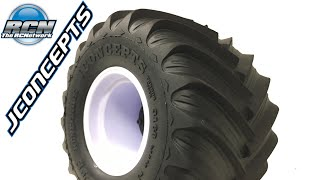 JConcepts Renegades Tire And Tribute Wheel - Axial SMT10 Monster Truck Upgrades EP1