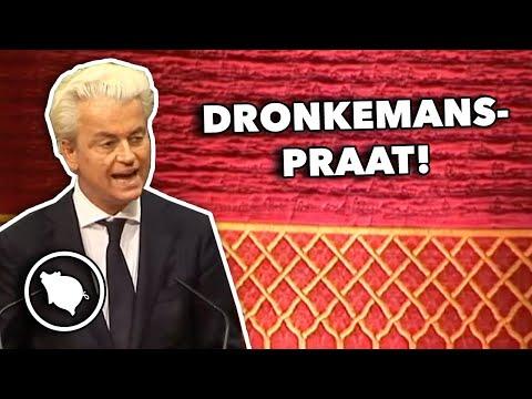 Geert Wilders (PVV): Er is te snel paniek over het coronavirus (En hij waarschuwt voor aerosolen)