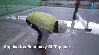 Best self Level Epoxy Flooring System by Sunanda Global