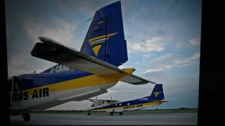 preview picture of video 'Győr-Pér Airport, Hungary'