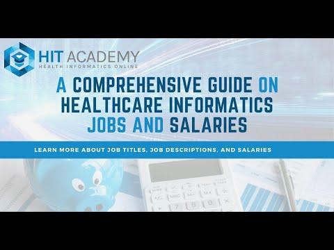 Health Informatics Top Jobs, Salaries, and Opportunities in 2021