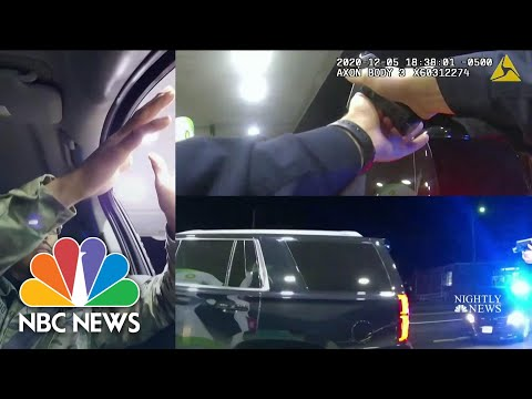 Shocking Footage Shows Army Lt. Pepper-Sprayed During Traffic Stop | NBC Nightly News