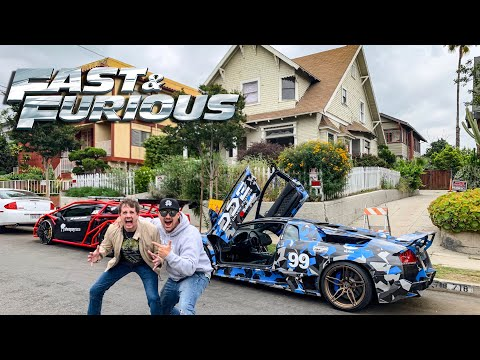 "WE TOUR FAST & FURIOUS LOCATIONS WITH ""JESSE"" IN LA! *OVERNIGHT PARTS FROM JAPAN*"