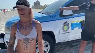 Arrestan A Mujer En Myrtle Beach Por Usar Bikini