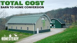 HOW MUCH DID IT COST To Turn A Pole Barn Into A Home?
