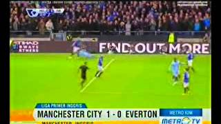 preview picture of video 'Highlight Manchester City VS Everton (1-0) 7 desember 2014'