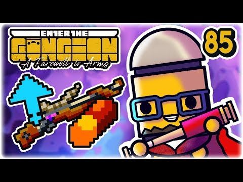 Hexagun Boost Synergy | Part 85 | Let's Play: Enter the Gungeon: Farewell to Arms | PC HD