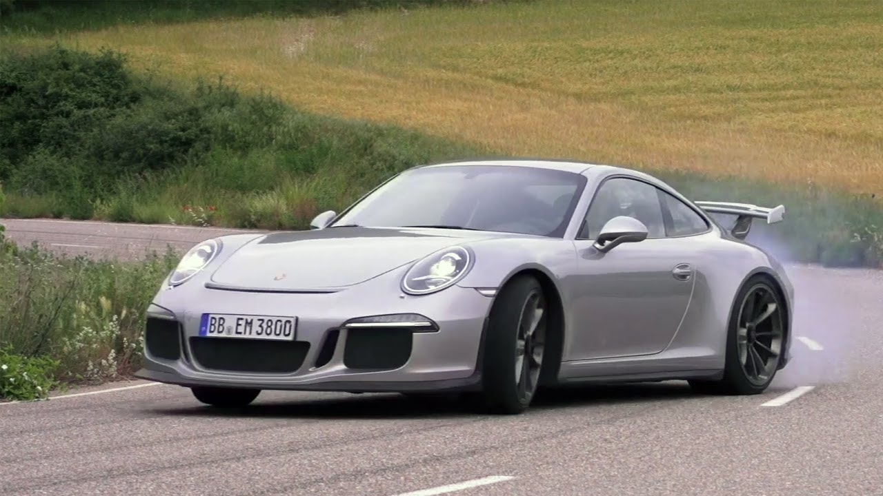 Behind The Wheel of The New Porsche 991 GT3…Wow