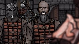 The Senile Scribbles: Skyrim Parody - Part 9