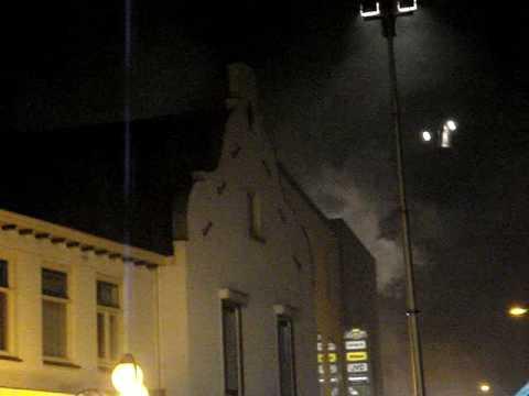 Middelbrand woning Steenstraat Boxmeer