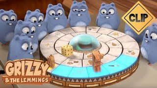Grizzy affronte les Lemmings au Jumanji ! - Grizzy & les Lemmings