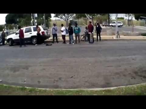 Fight at McBride skatepark