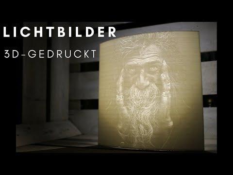 Lichtbilder / Lithophane - aus dem 3D-Drucker