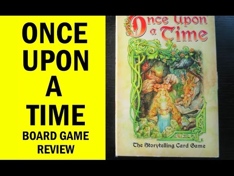 The Board Game Sanctuary Reviews: Once Upon A Time