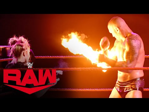 Alexa Bliss hits Randy Orton with a fireball: Raw, Jan. 11, 2021