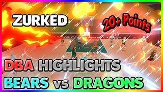 BEARS VS DRAGONS HIGHLIGHTS! | DBA - ZURKED |