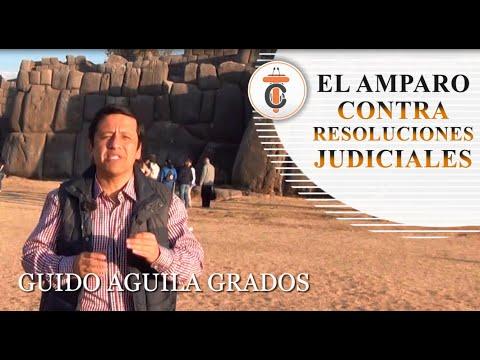 EL AMPARO CONTRA RESOLUCIONES JUDICIALES - Tribuna Constitucional 80 - Guido Aguila Grados