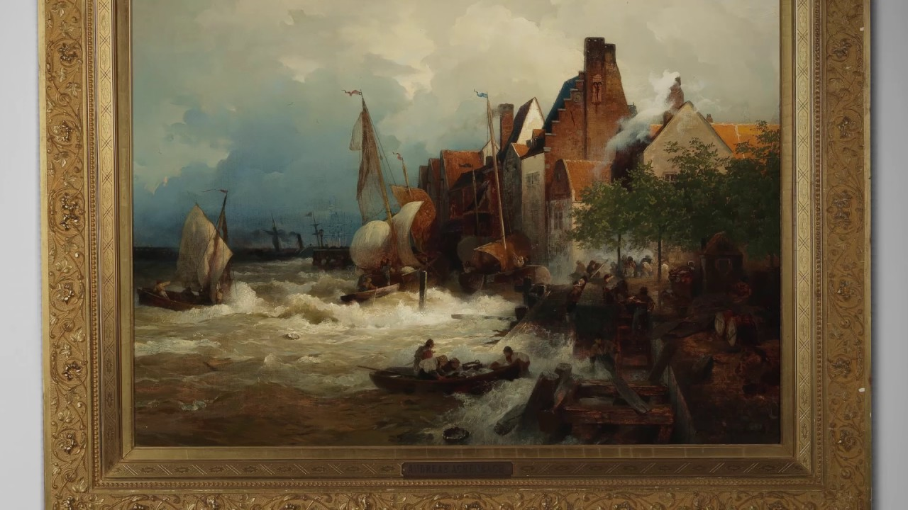 Andreas and Oswald Achenbach | 19th Century Paintings | April 2017