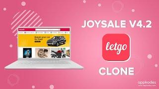 Best letgo clone - Appkodes Joysale