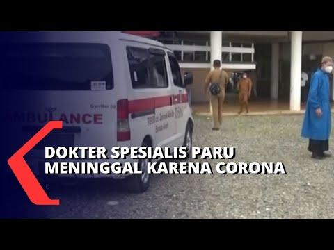 kabar duka dokter spesialis paru di aceh meninggal dunia karena corona