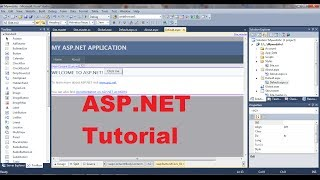 ASP.NET Tutorial 1- Introduction and Creating Your First ASP.NET Web Site