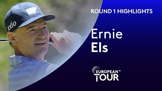 Ernie Els Highlights | Round 1 | 2020 Alfred Dunhill Championship