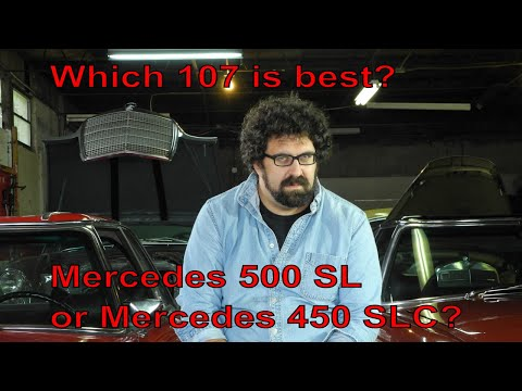 Which 107 Is Best?  Mercedes 500 SL Or Mercedes 450 SLC?