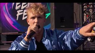 "Jake Paul ft. Team 10 - ""It's Everyday Bro"" Live (Teen Choice Awards 2017)"