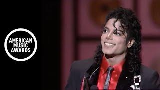 Michael Jackson Wins Lifetime Achievement Award - AMA 1989