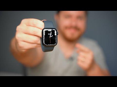 Hands-on do Apple Watch Series 7!