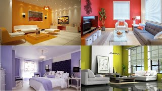 100+ Living Room Colors Combinations & Wall Painting Colors Ideas | Decor | KGS Interior Designs
