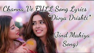 Divya Drishti Serial song | Jind Mahiya Song | Star   - YouTube